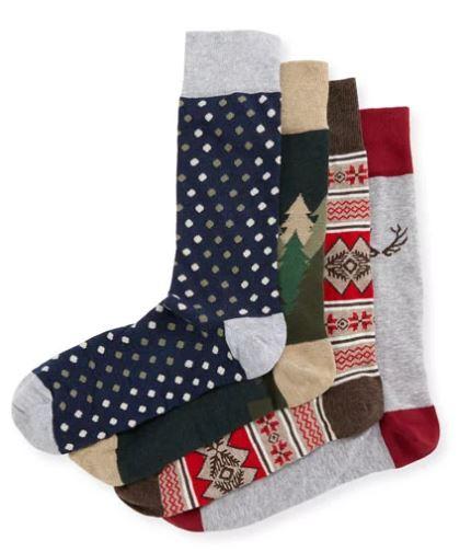 Neiman Marcus Antler Socks Gift Set $75