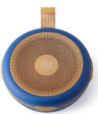 Stelle Audio Navy Blue/Gold Go-Go Wireless Speaker $129