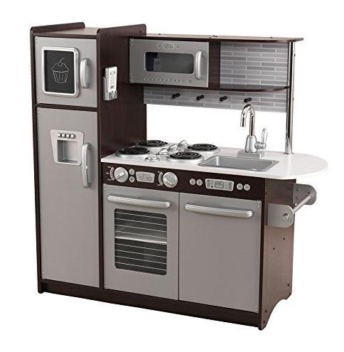 KidKraft Uptown Espresso Kitchen $138