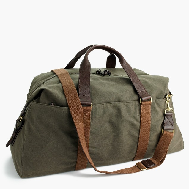 J.Crew Abingdon weekender bag $228  25% OFF FULL PRICE W/ CODE CHACHING