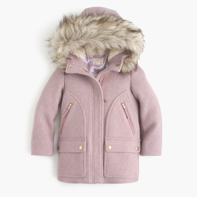 J. Crew Girls' stadium-cloth chateau parka $228  25% OFF FULL PRICE W/ CODE CHACHING