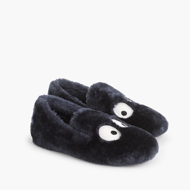 J.Crew Boys' Max the Monster furry slippers $30  25% OFF FULL PRICE W/ CODE CHACHING