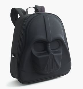 J. Crew Kids' Star Wars ™ for crewcuts Darth Vader backpack $50  25% OFF FULL PRICE W/CODE CHACHING
