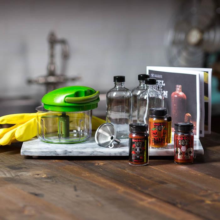 Man Crate Hot Sauce Making Kit $70