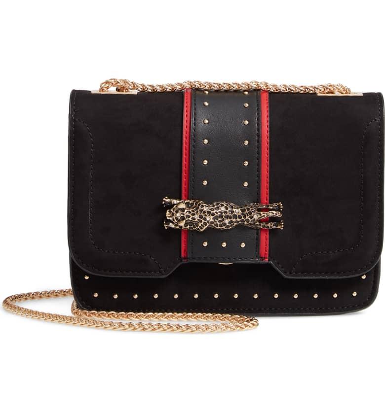 TOPSHOP Panther Crossbody Bag $48