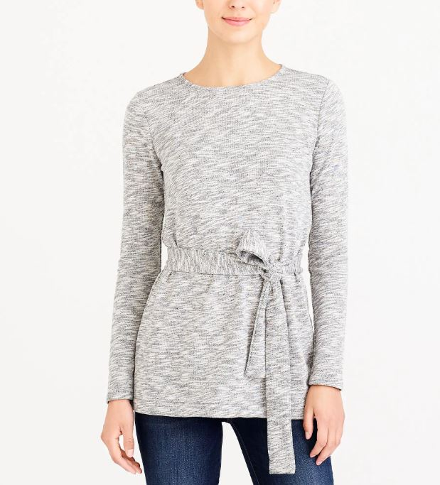 J.Crew Belted Sweater $36