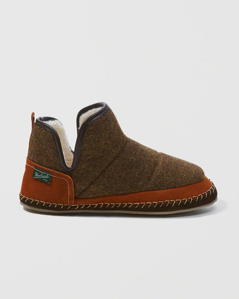 A&F Woolrich Glamper Slippers