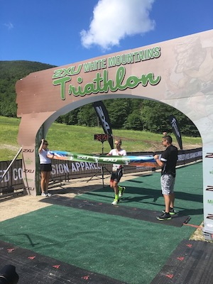 2XU White Mountain Triathlon Winner
