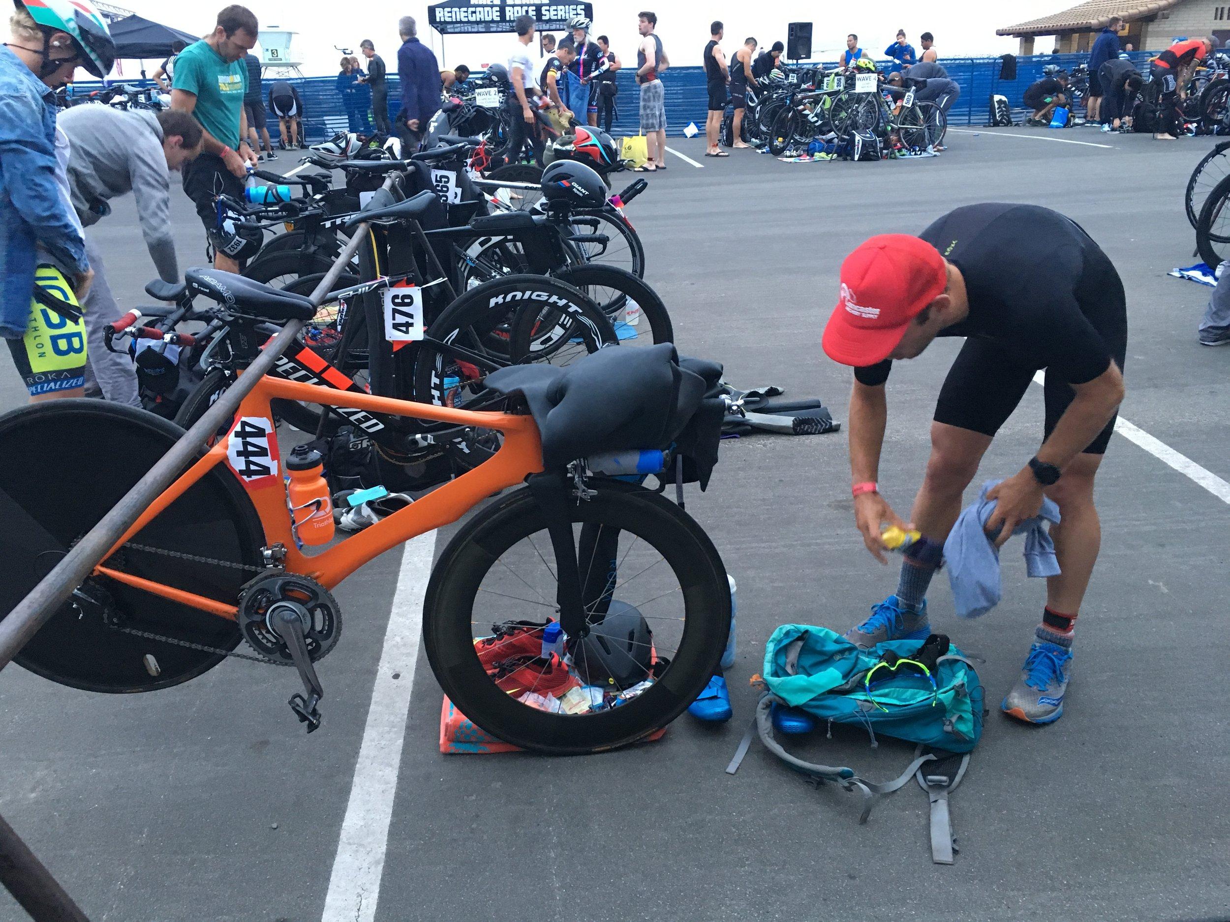Ventura Breath of Life Triathlon - pre race