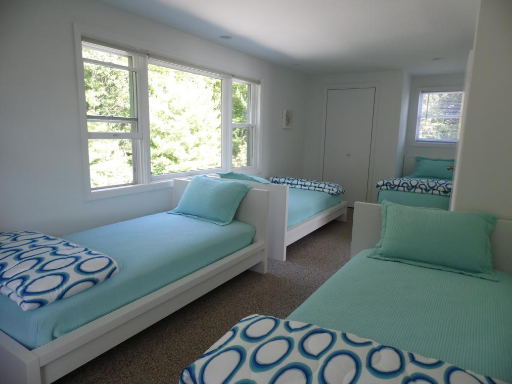 Excellent sleeping quarters for a family of any size -
