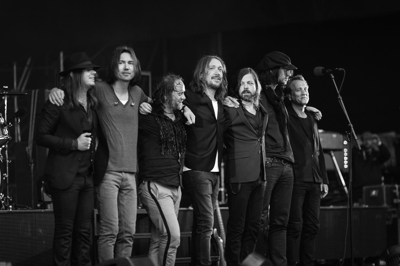 Nicke Anderson, Johan Persson, Robban Eriksson, Lars Winnerbäck, Jerker Odelholm, Anders Lindström, Ola Nyström