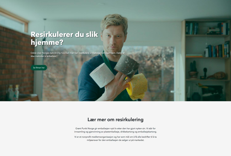 Grønt Punkt // Alexander Reklamebyrå