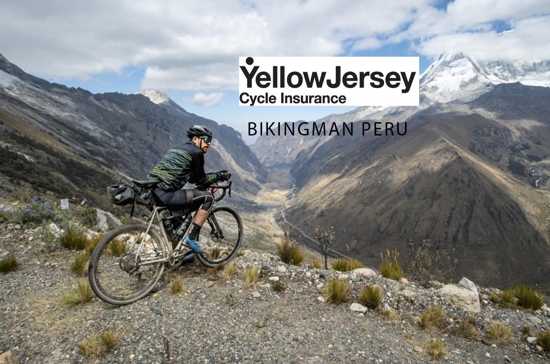 Yellow Jersey - Inca Divide - Peru