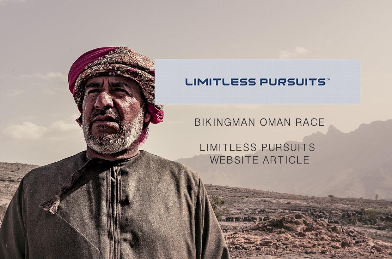 Limitless Pursuits online magazine - BikingMan Ultra race in Oman.