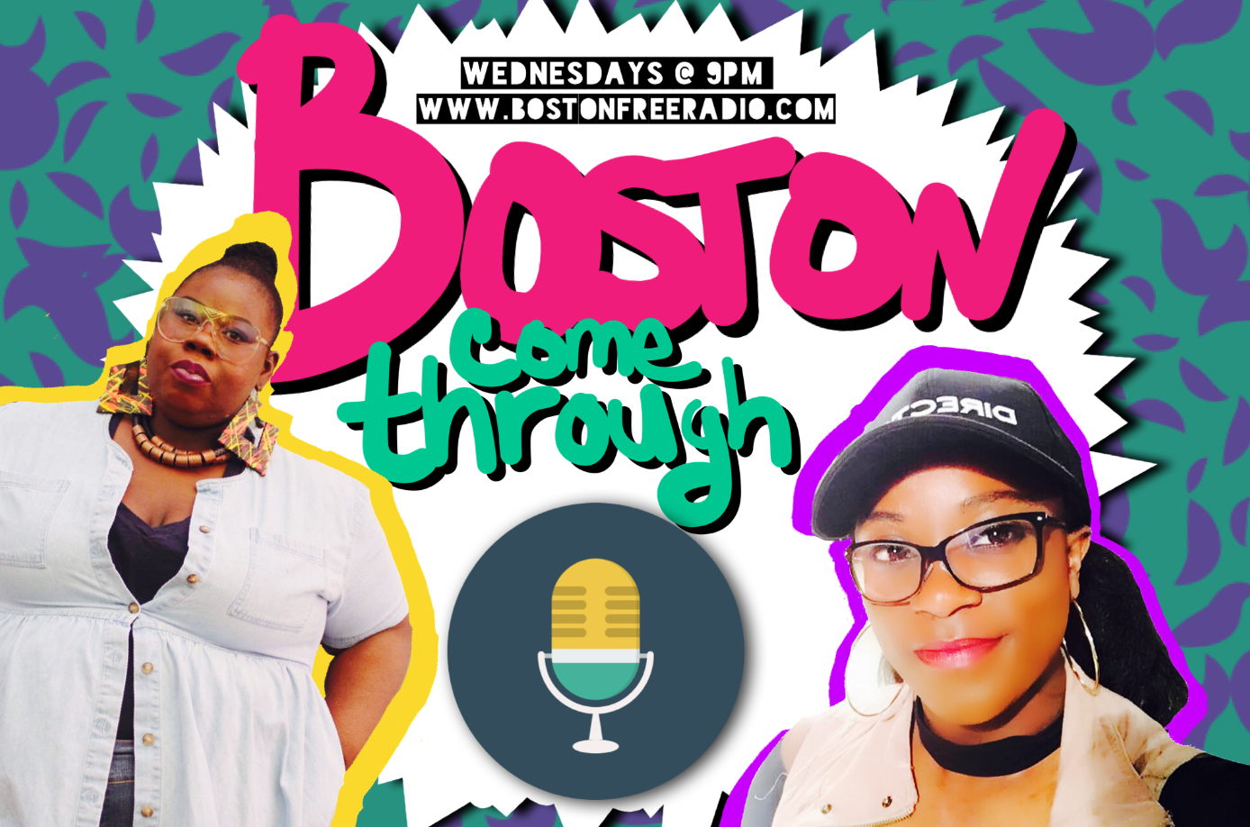 Myself, aka MsFab617, and my co-host, Crystal, aka the Crystal Lens air live every Wednesday at 9pm EST on Boston Free Radio!