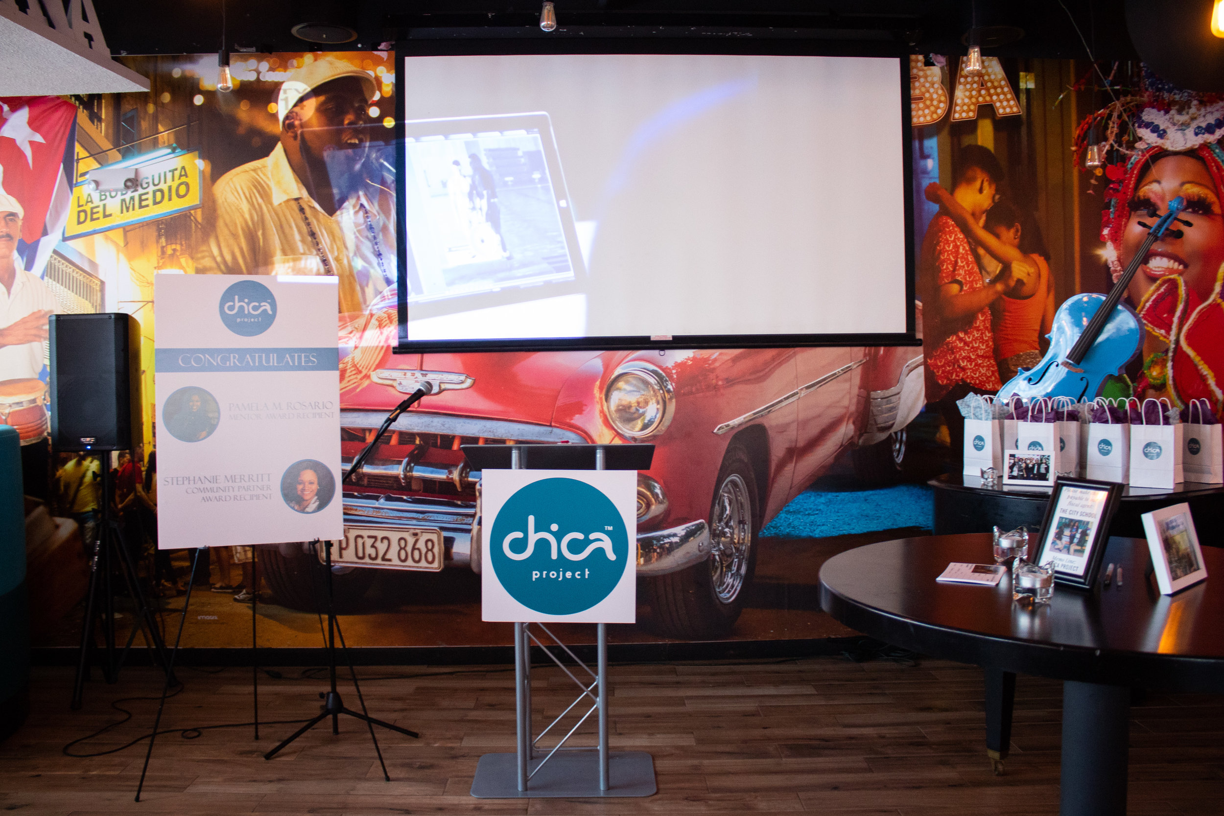 The 7th annual Power of One Fundraiser took place at Dona Habana Restaurant.