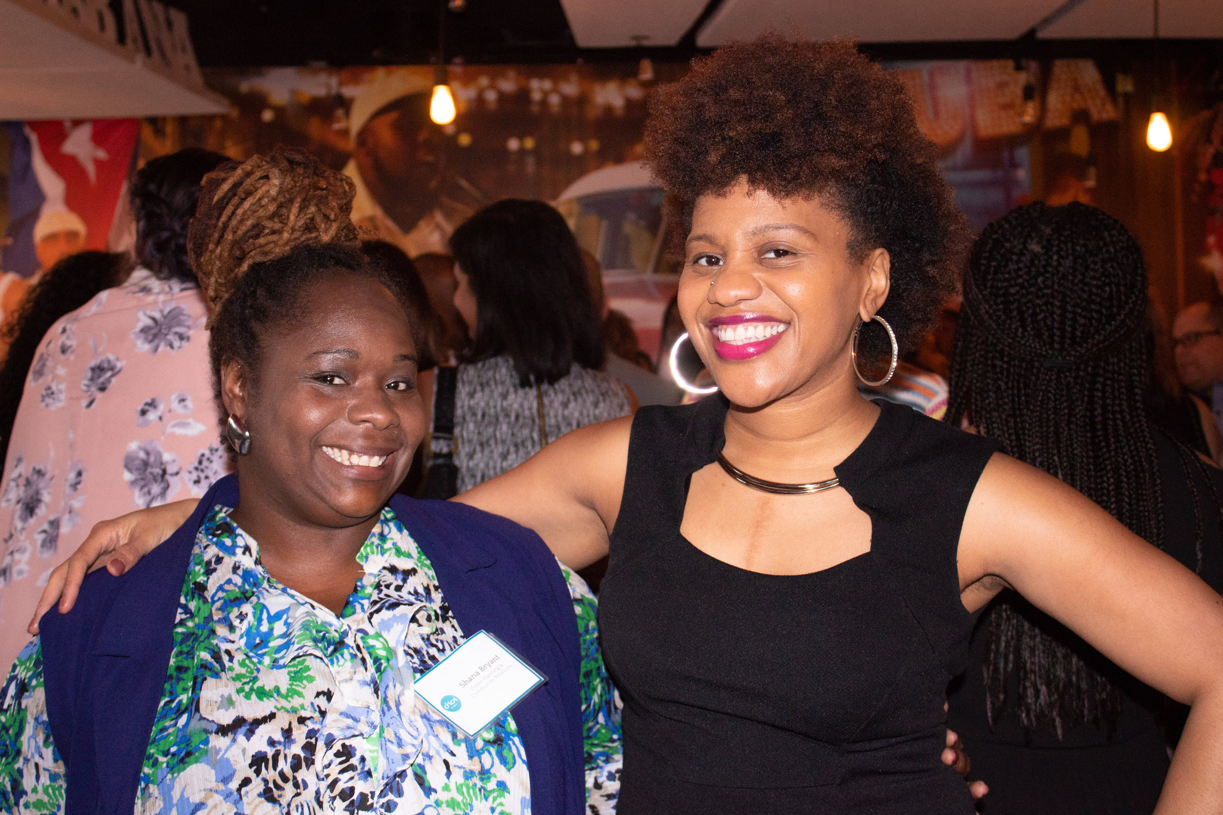 Shana Bryant (left) and Sheena Collier of The Collier Connection.