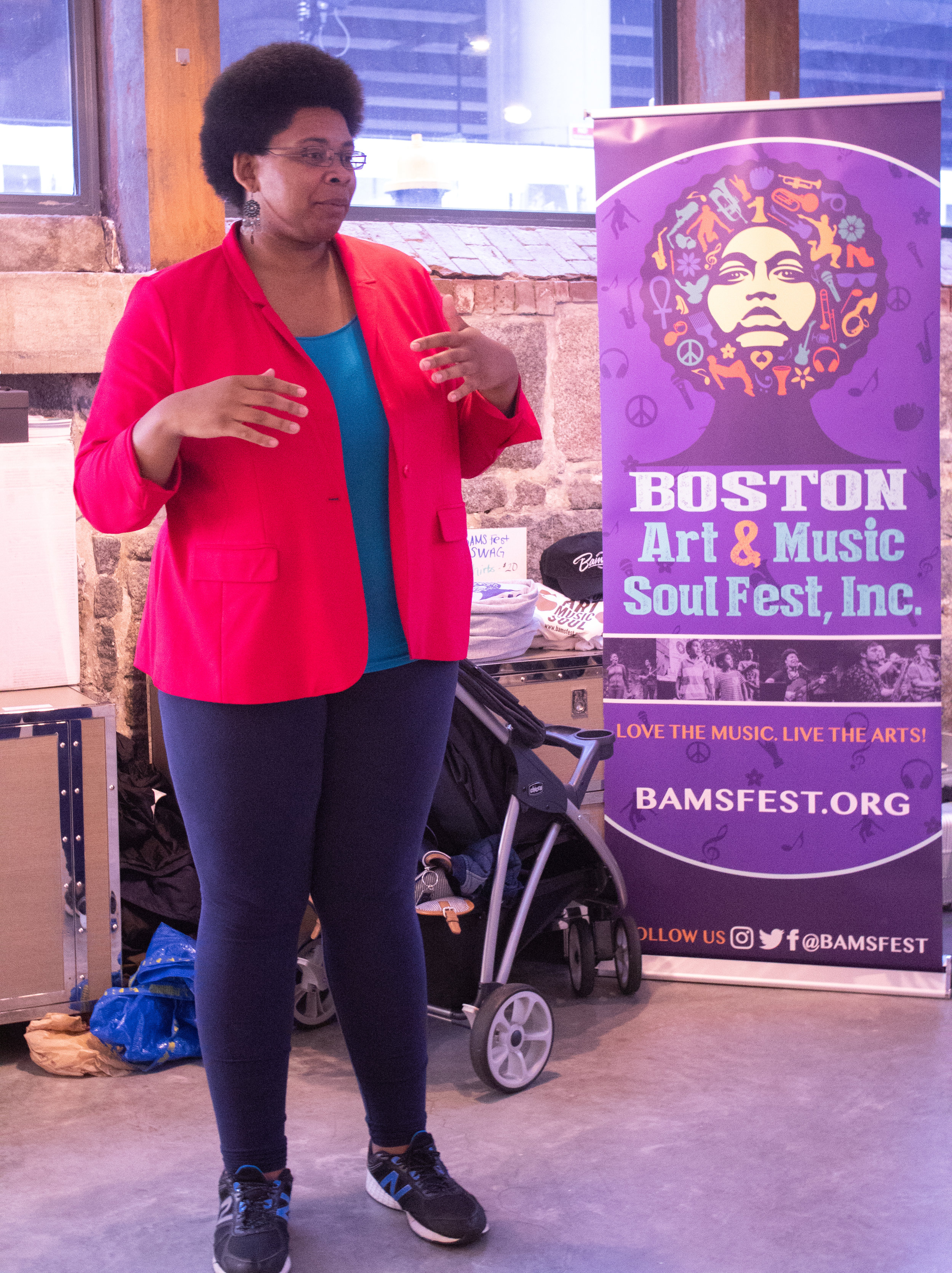Catherine Morris, founder of BAMS Fest discusses her journey to get BAMS Fest from an idea to fruition.