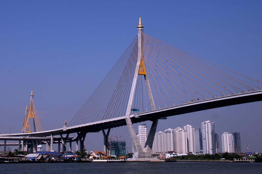 The Industrial Ring Mega Bridge Bangkok, Thailand, 2008.jpg