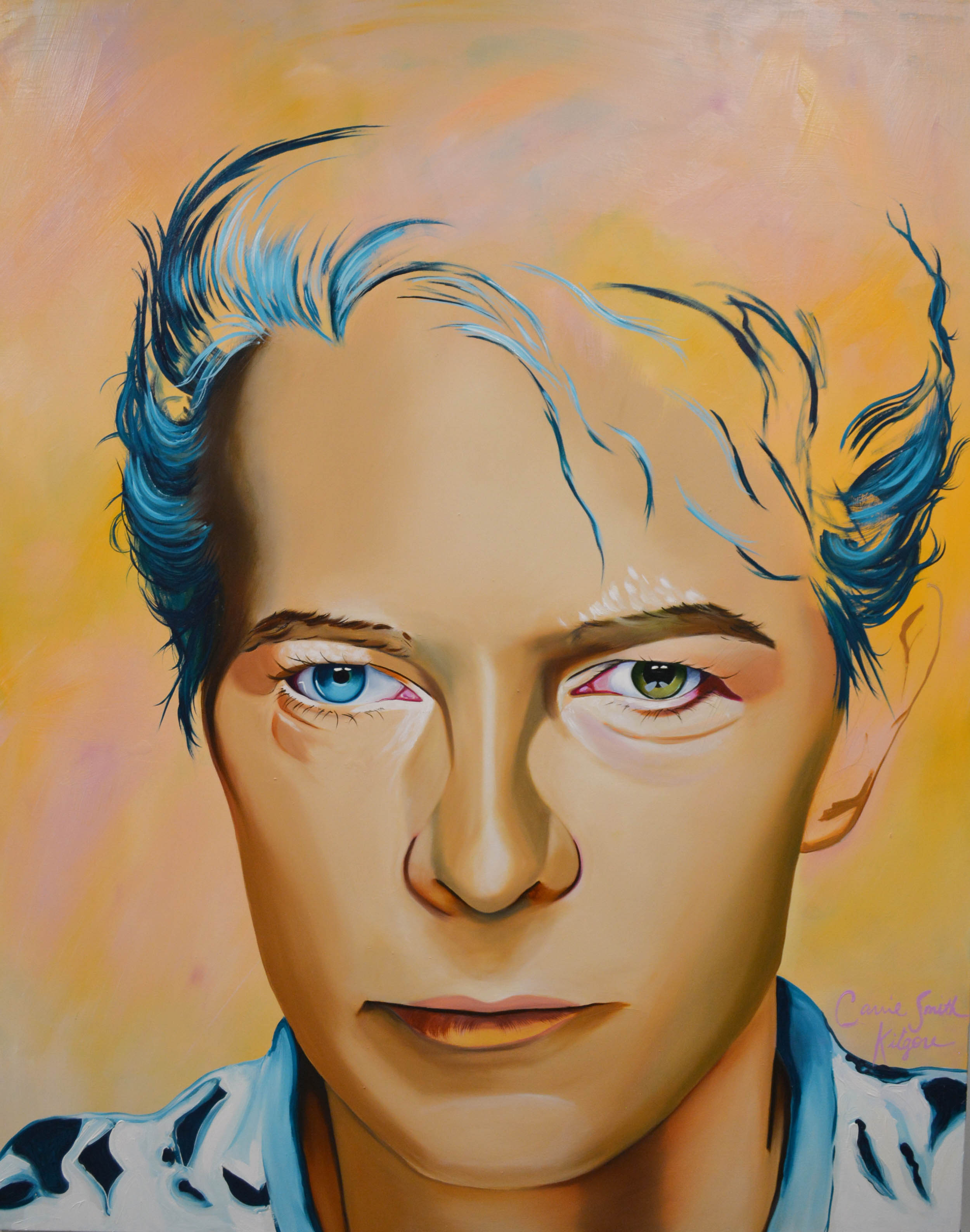 David Bowie (5ft x 4ft) by Carrie S. Kilgore.jpg
