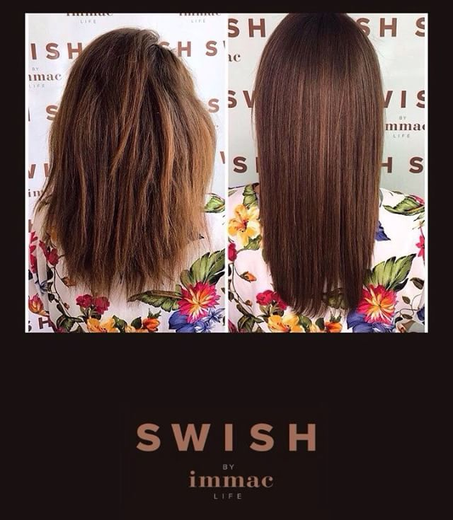 Our half price Keratin offer ends on the 30th of June. Sleek, smooth & straight hair? Your SWISH is our command!. • • #swishabudhabi #amazonkeratin #blowoutstudio #frizzfree #hairgoals #haircare #promotion #eidmubarak