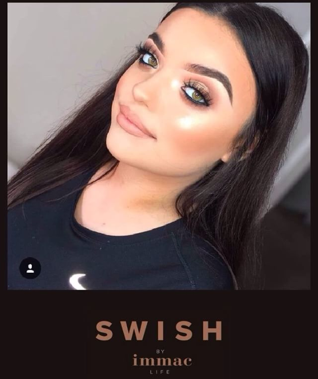 Get glam this weekend and enjoy a makeover by one of our UK trained makeup artists!. • • • #wakeupandmakeup #weekendvibes #tooglamtogiveadamn #glowgoals #swishabudhabi #makeupstudio #makeupuae @meganjayne__x @catherine_a_w