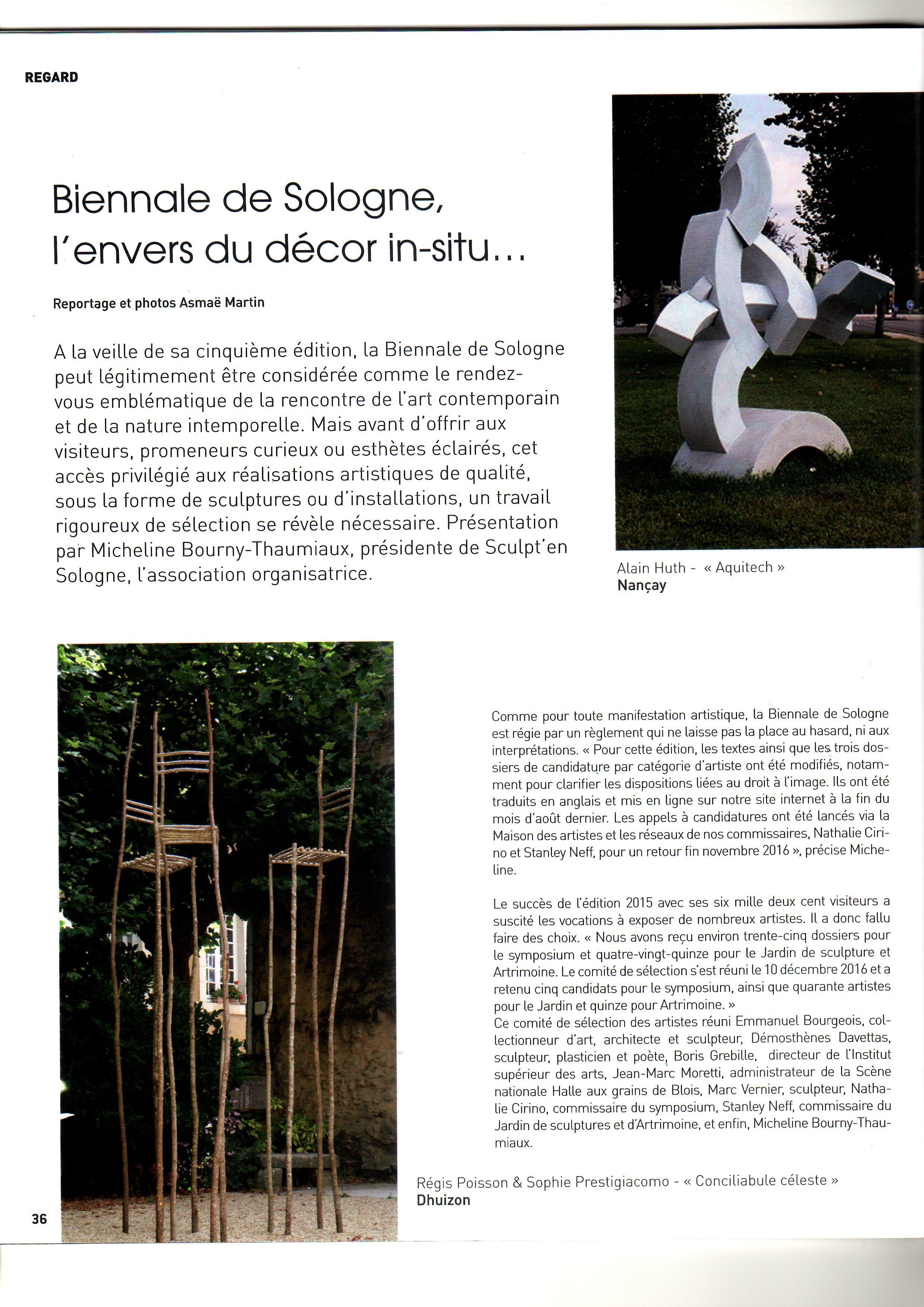 Origine Sologne n°10 p. 36/37 -