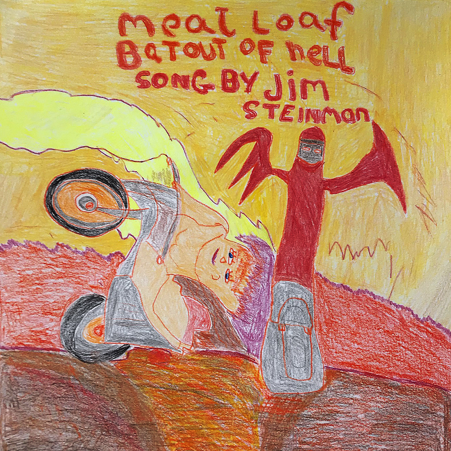 "Carolyn Wilder's Meatloaf's ""Bat out of Hell"""