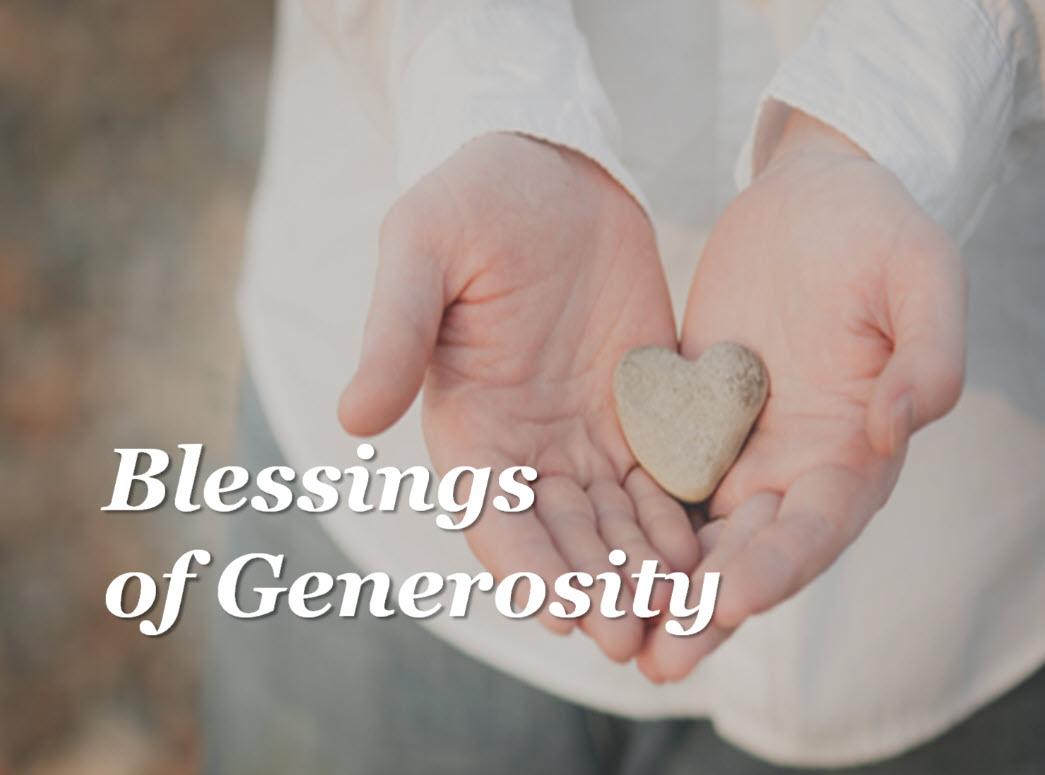 Blessing of Generosity