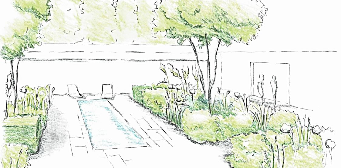Garden Terrace Water Feature