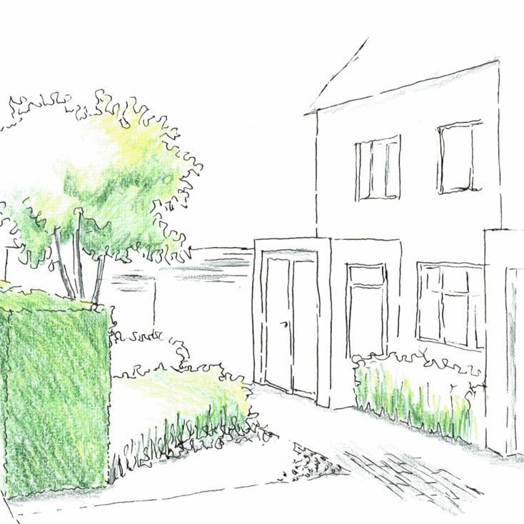 surrey urban garden -