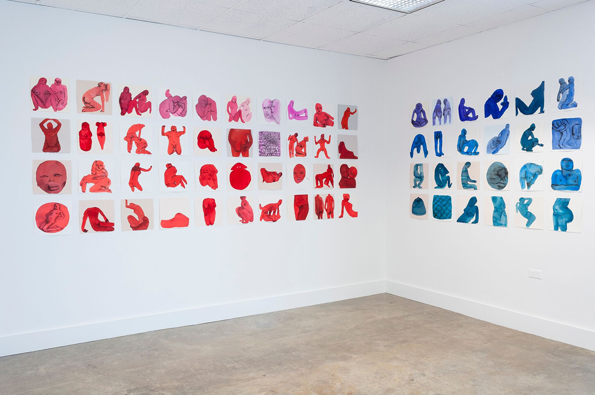 Emma Kohlmann, 108 works, Moca Tuscon, 2016