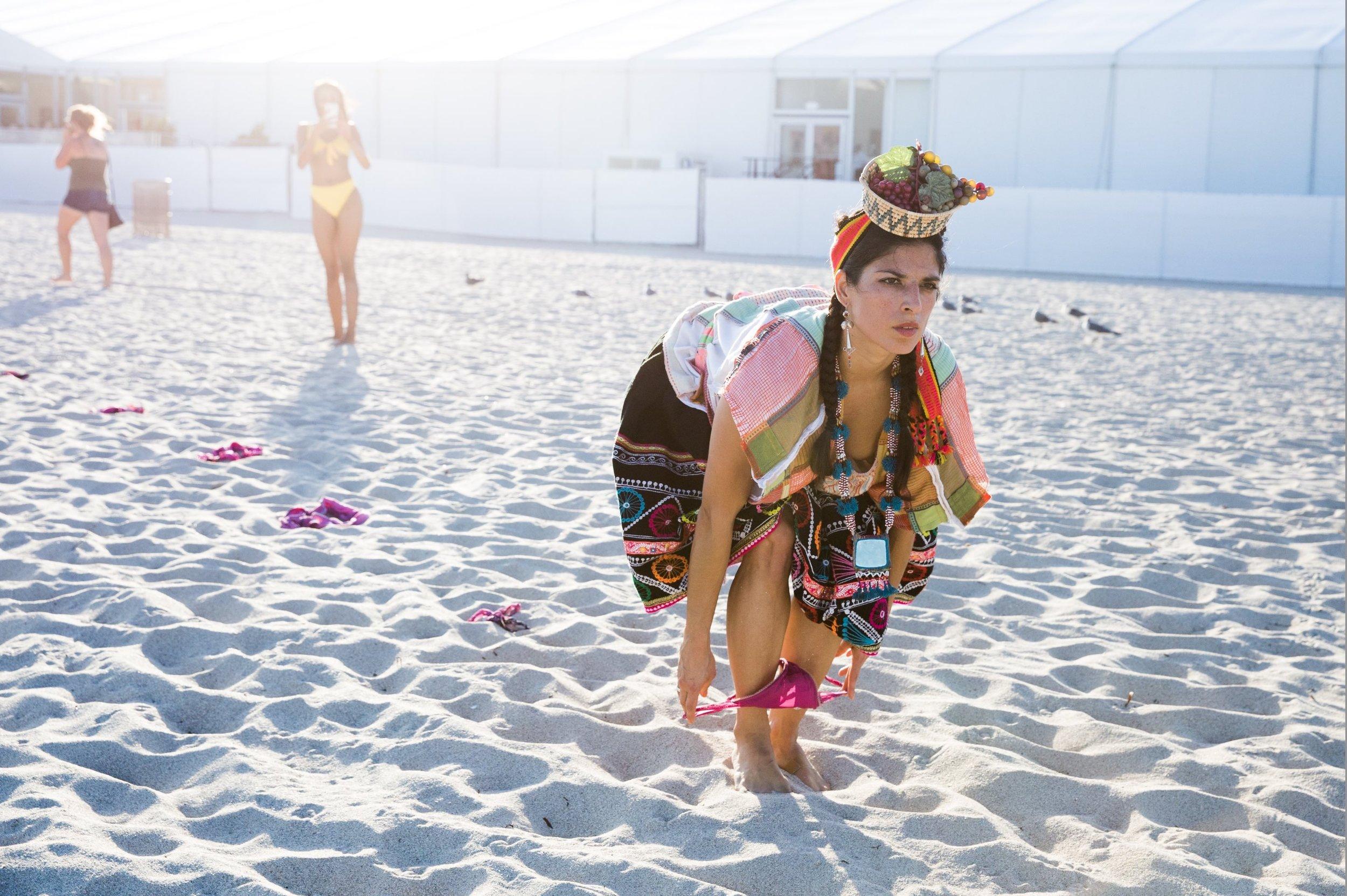 Katiushka Melo La Indigena, Performance, 2017