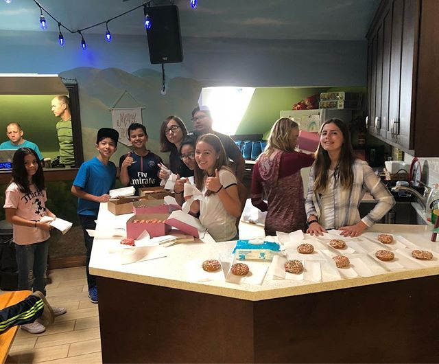 We are so grateful for these JAM students who took time to serve MVkids on Sunday. #FormerMVkidsServeMVkids