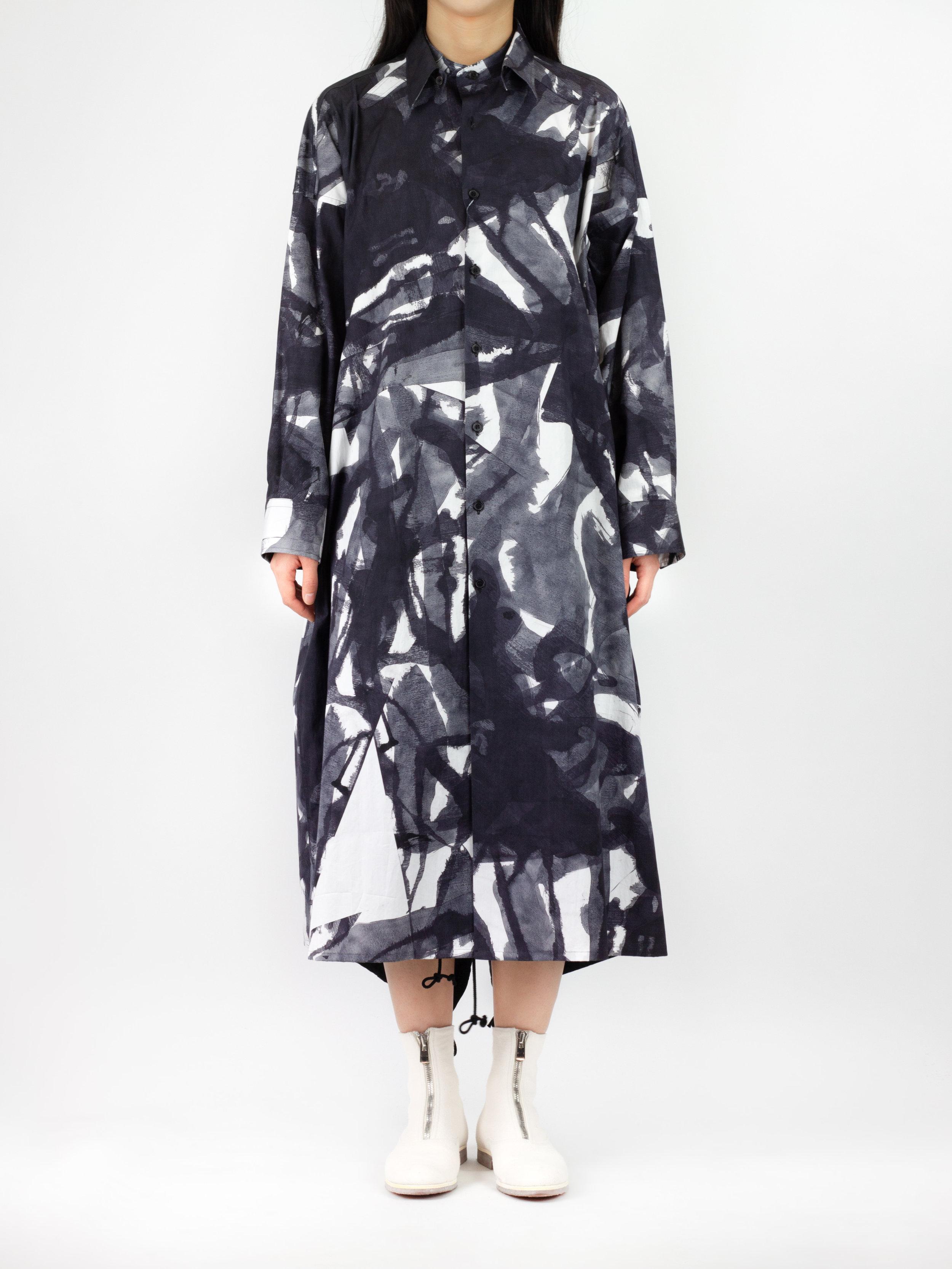 Avant-garde garments photographed for fashion e-commerce