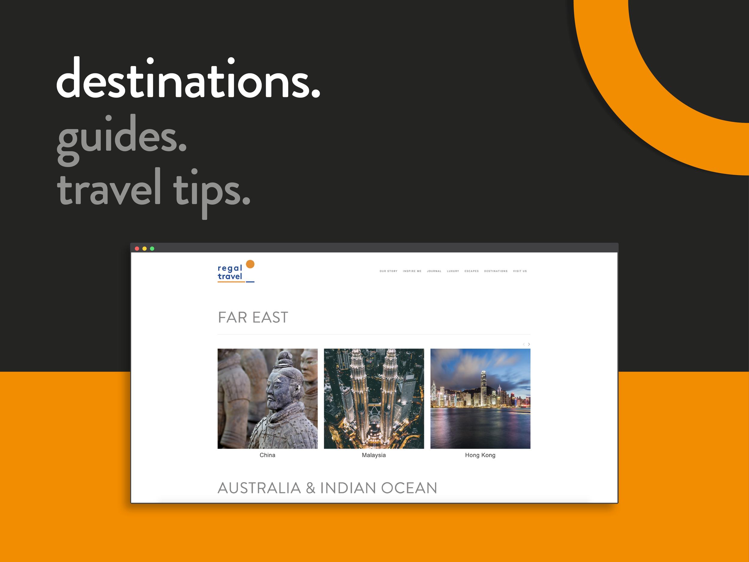 customer inspiration design for travel