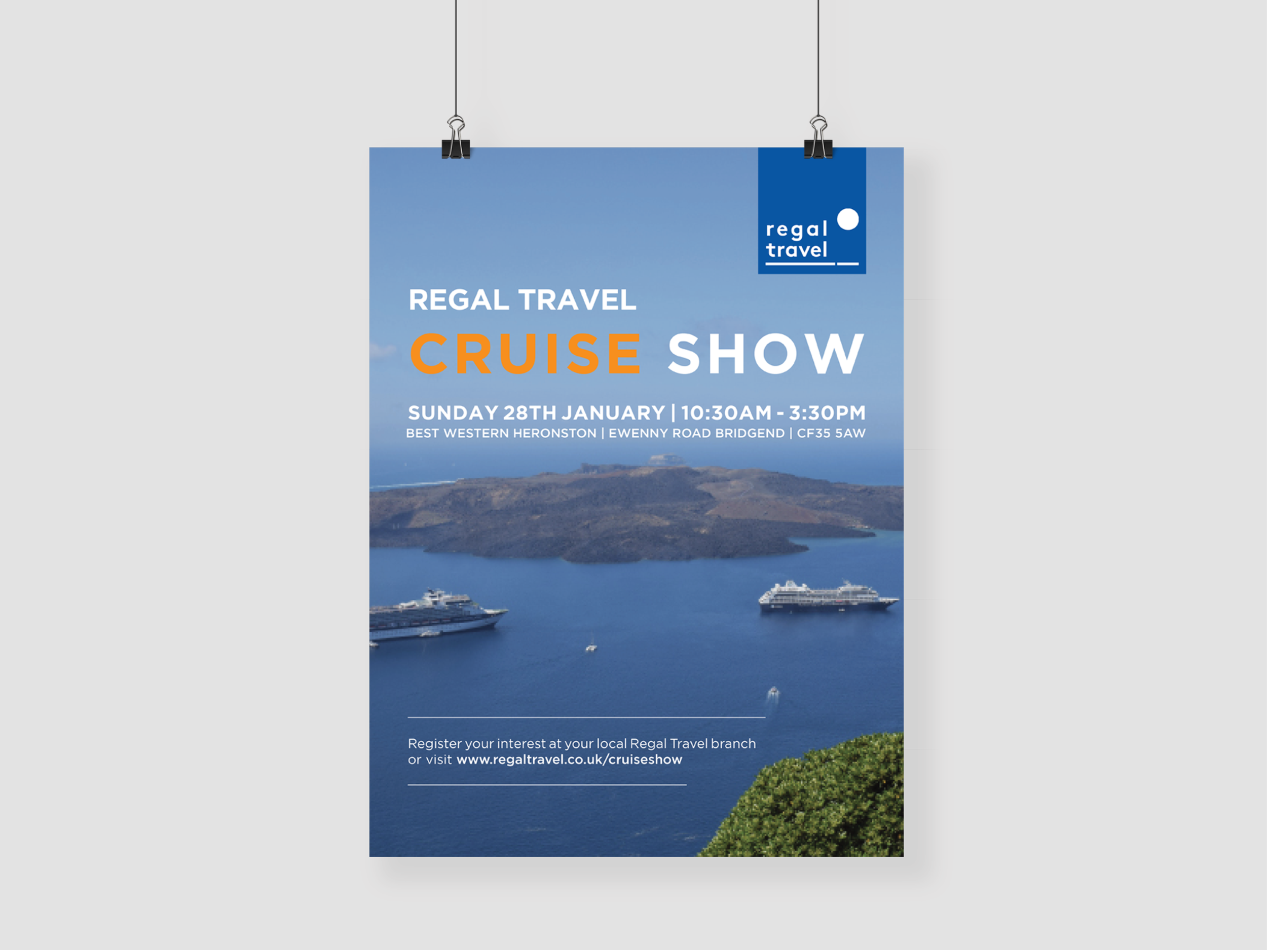 travel marketing poster