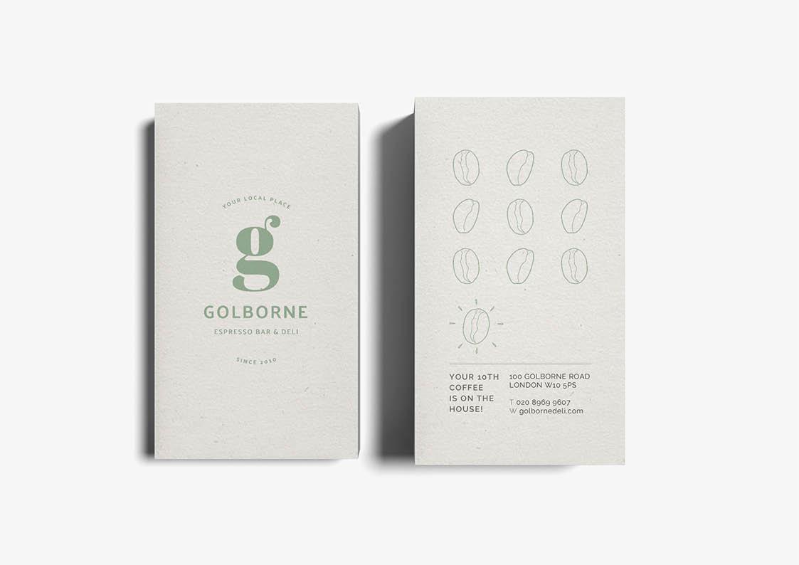 coffee shop loyalty card designs