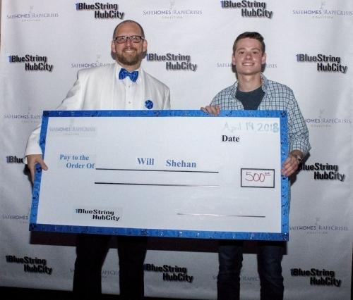 Will Shehan Named 1BlueStringhubCity Winner
