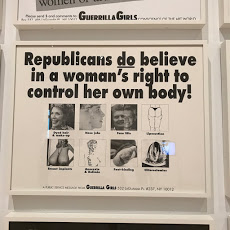 Guerrilla Girls no Whitney Museum