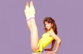 Jane Fonda, na época que tinha transtornos alimentares.