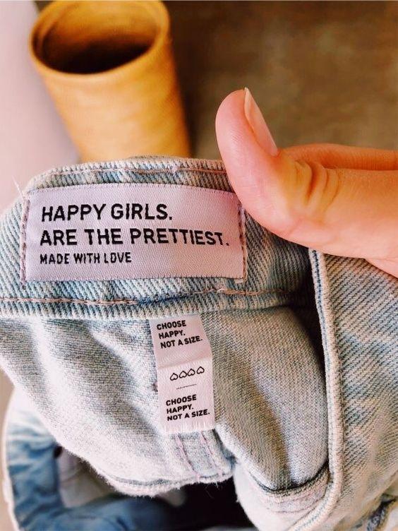 Do pinterest: Garotas felizes são as mais bonitas