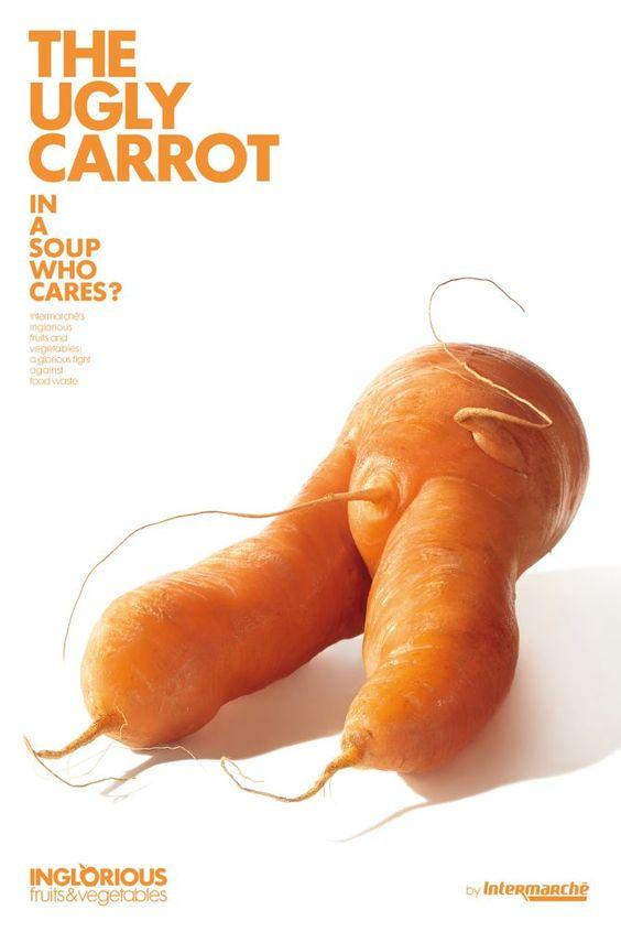 """""""A cenoura feia"""" - numa sopa, quem se importa?"""