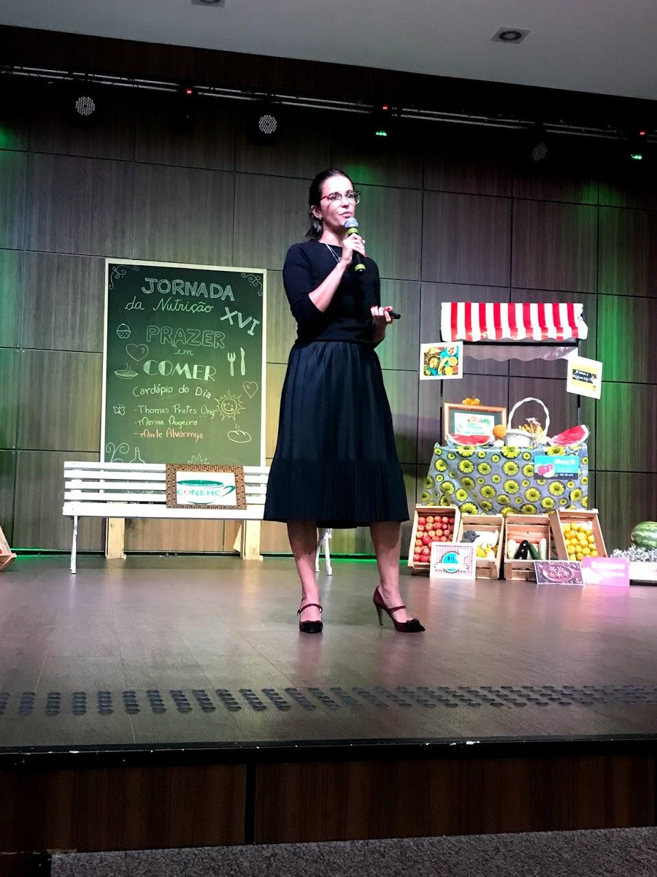 XVI jornada da nutrição da Faculdade Adventista - São Paulo - SP - maio/2018