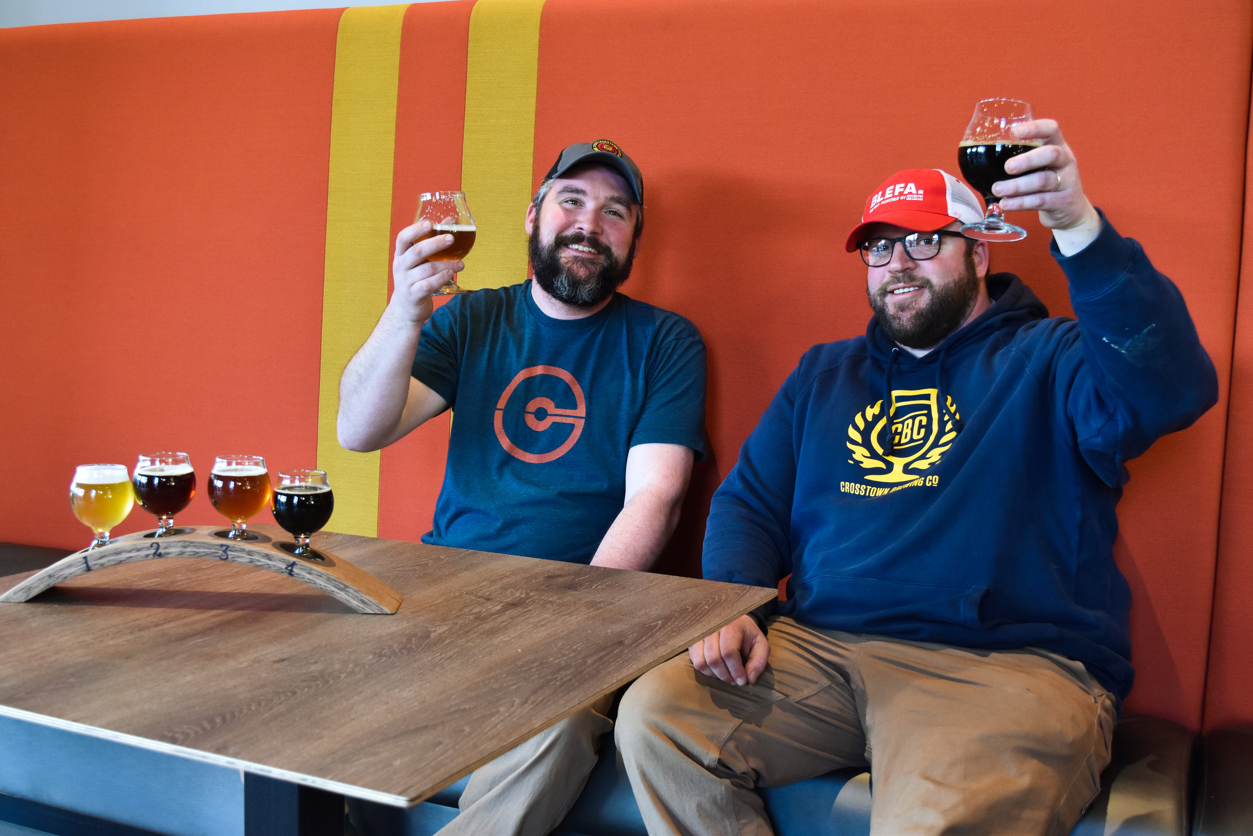 Will Goodwin & Clark Ortkiese / CROSSTOWN BREwing co., OWNERS & craftsmen