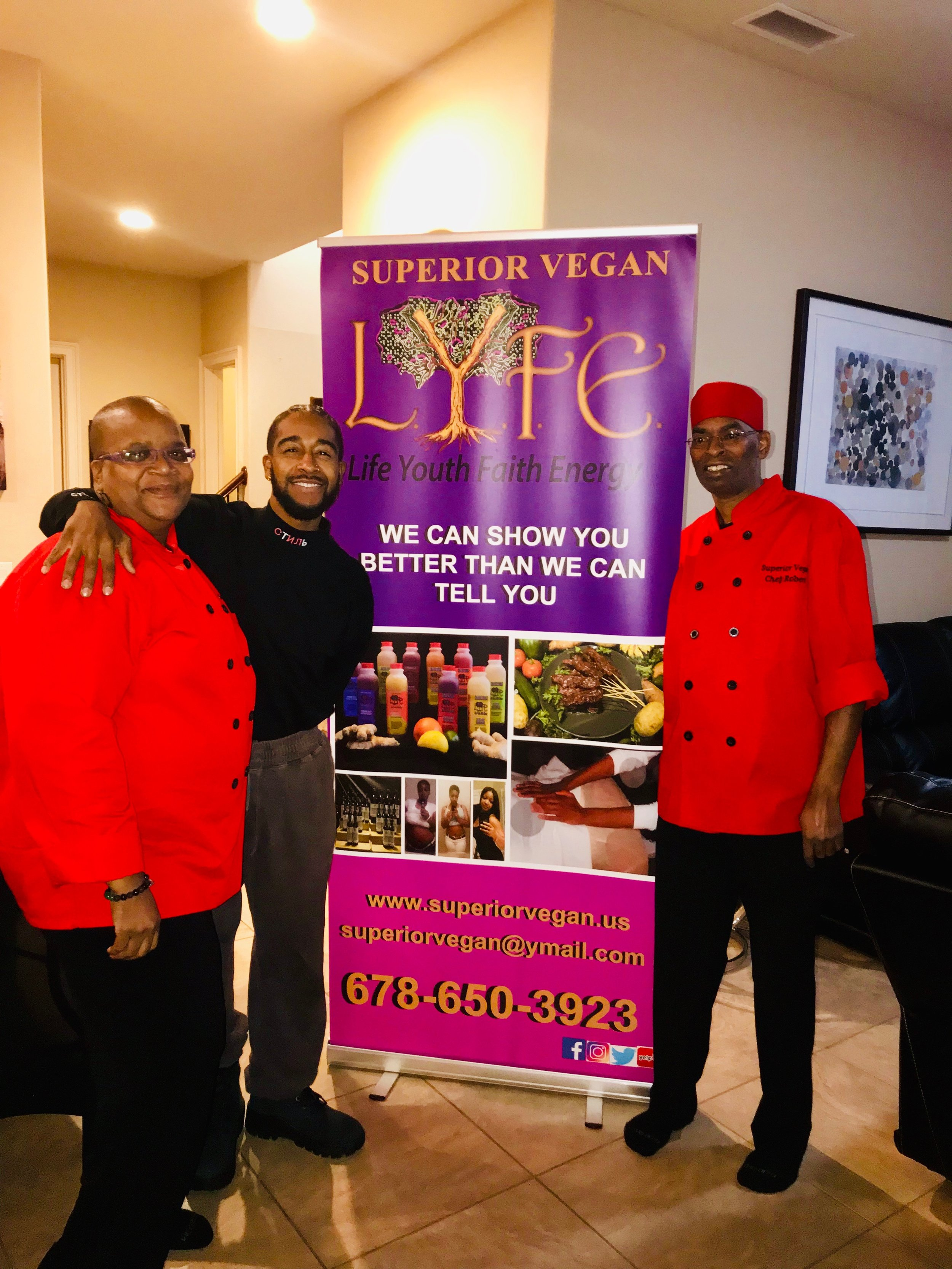 Get yo life! Much love and appreciation to Superior Lyfe Vegan for an AMAZING bday meal.