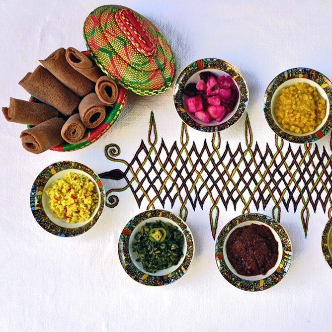 Saba's Ethiopian Food - Ethiopian & Vegan