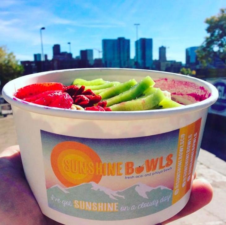 Sunshine Bowls - Acai & Pitaya Bowls