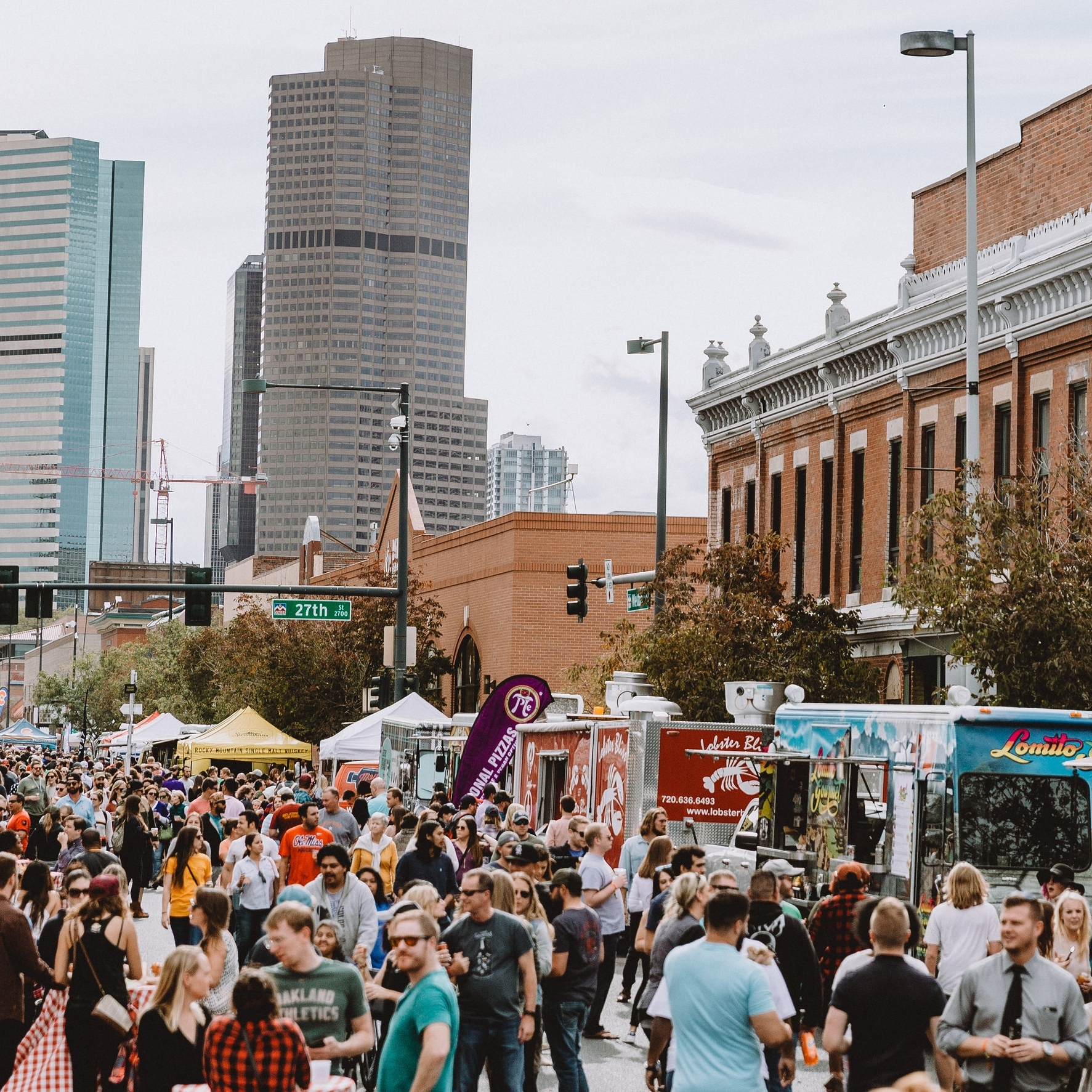 THE GIST - Last summer, we hosted four neighborhood bashes across Denver stacked with a ton of local food trucks, vendors, live music, and craft beverages! This summer, we're taking Truck Stop on the road again, bringing the same block party vibes to four different neighborhoods!