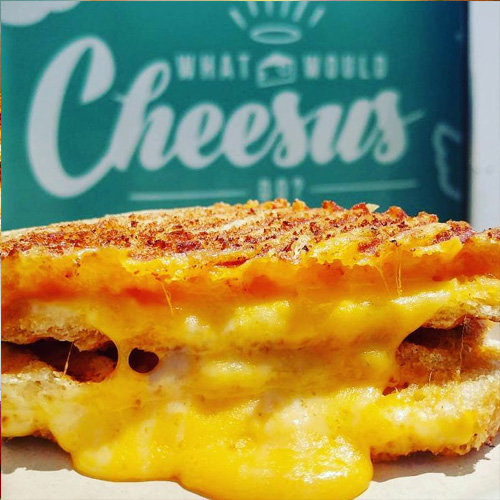 What Would Cheesus Do? - Gourmet Grilled Cheese